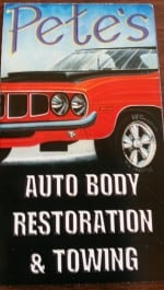 PETE'S AUTOBODY & TOWING