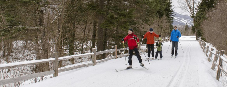 cross country skiing northern nh