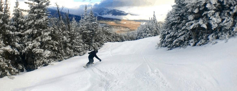downhill skiing northern nh
