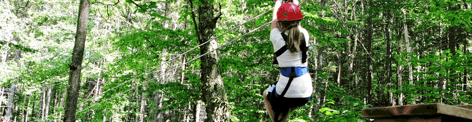zip lines rope courses northern new hampshire