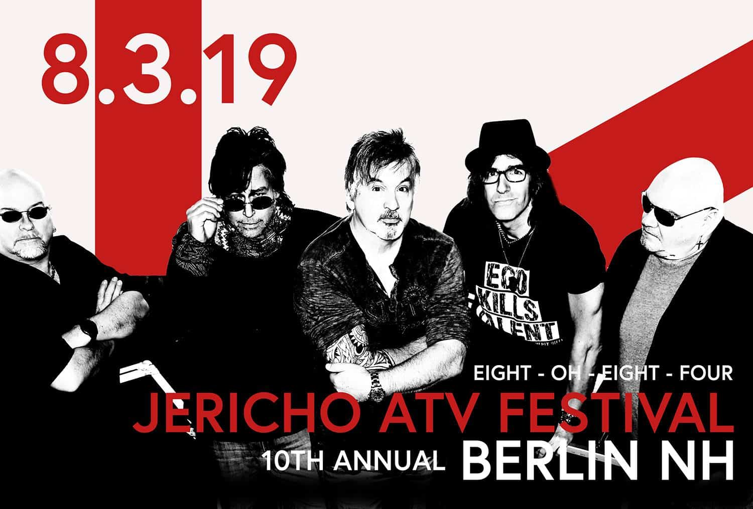 This year's Jericho ATV Festival features live music by 8084