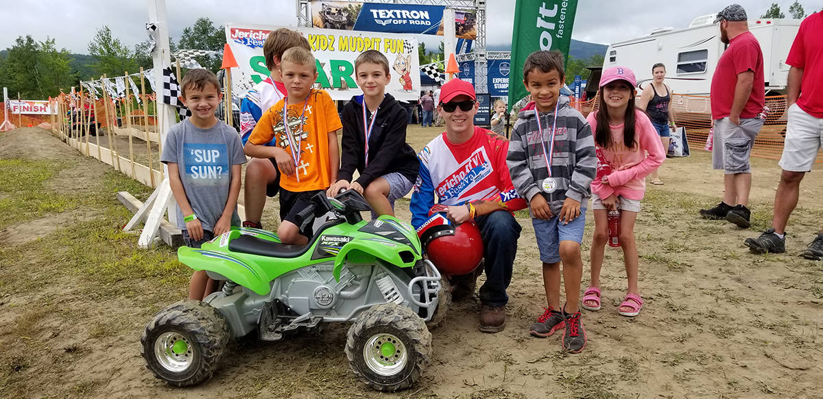 Kids can have fun too at the Jericho ATV Festival!