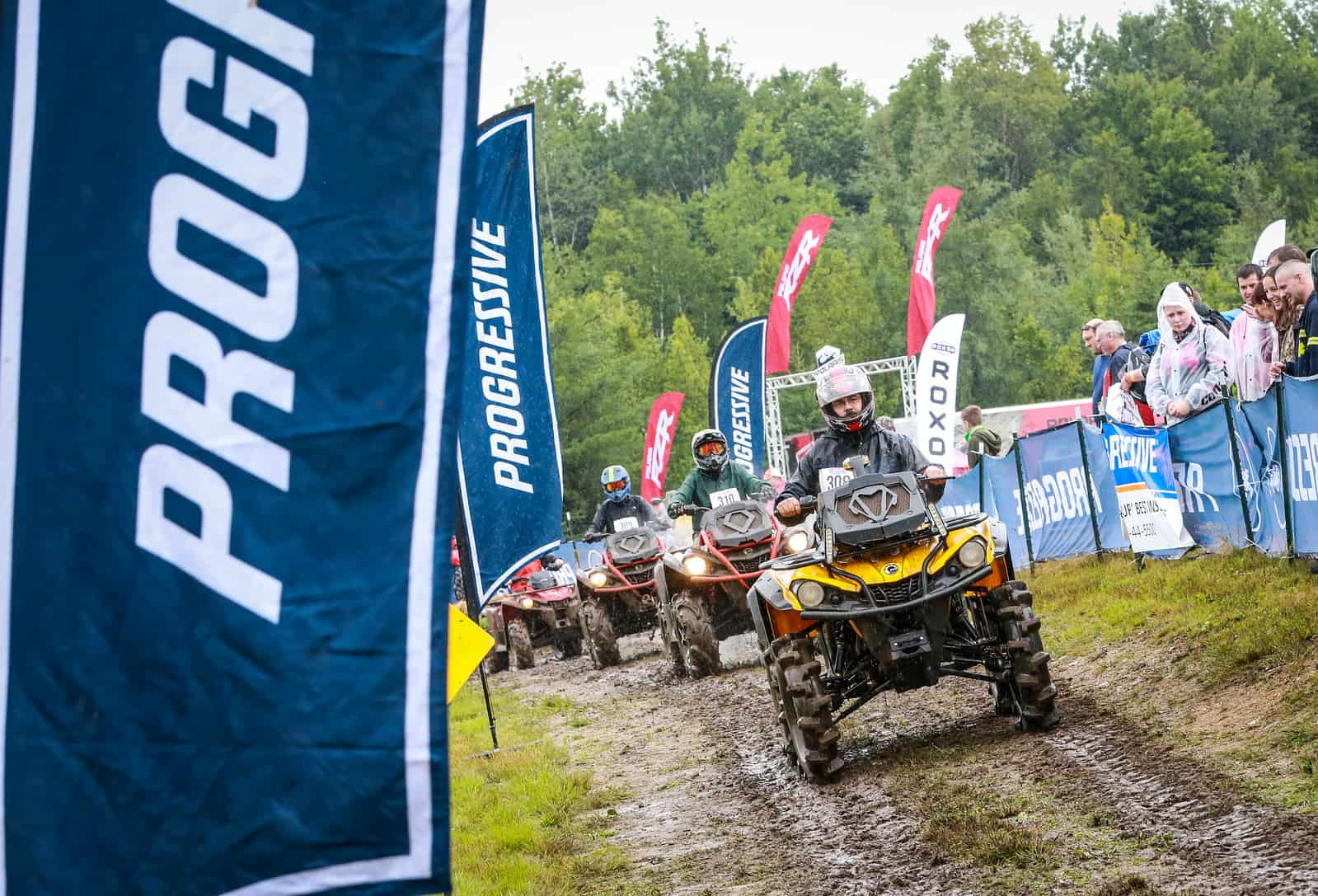 The mudpit is a great event at the Jericho ATV Festival