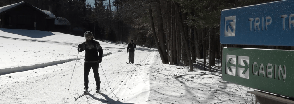Cross Country skiing in Northern NH