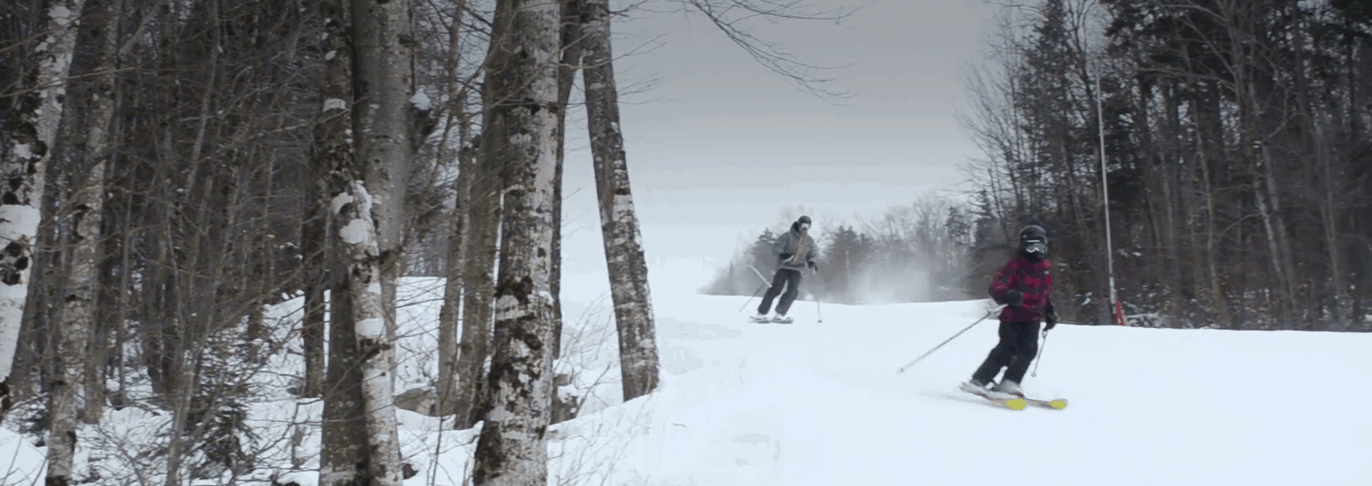 Downhill skiing in Northern NH