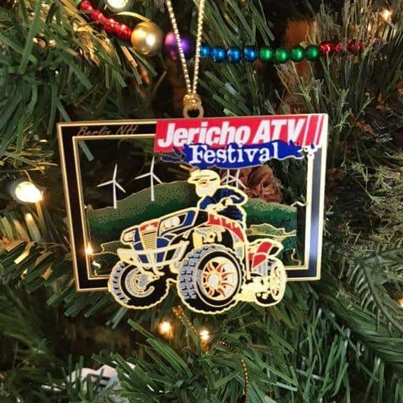Jericho ATV Festival Ornament