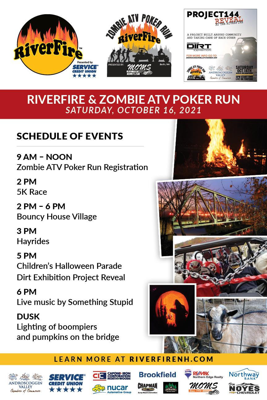 RiverFire Schedule Poster