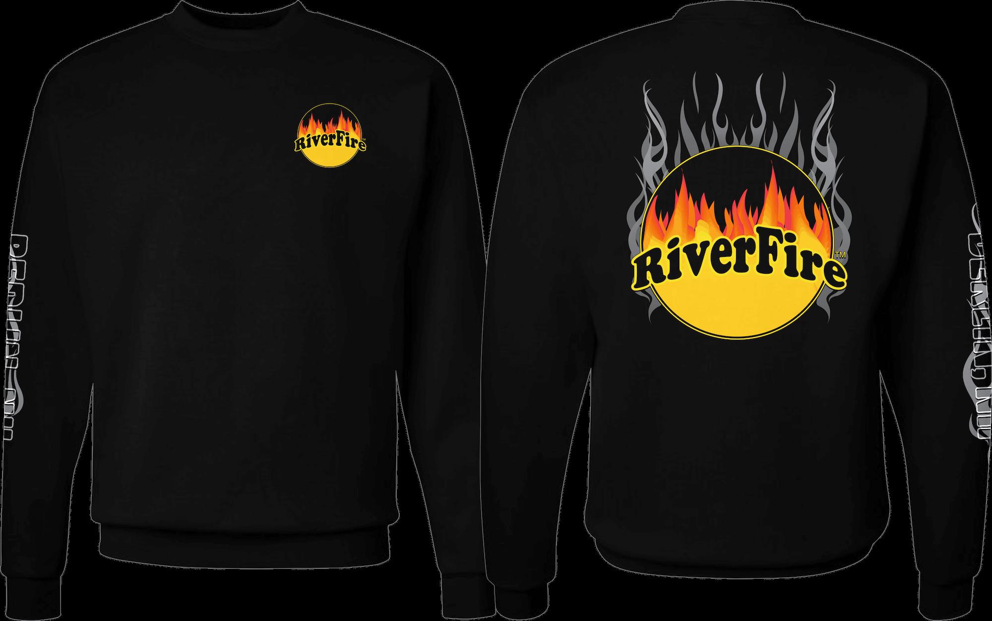 Crew Neck Riverfire Sweatshirt