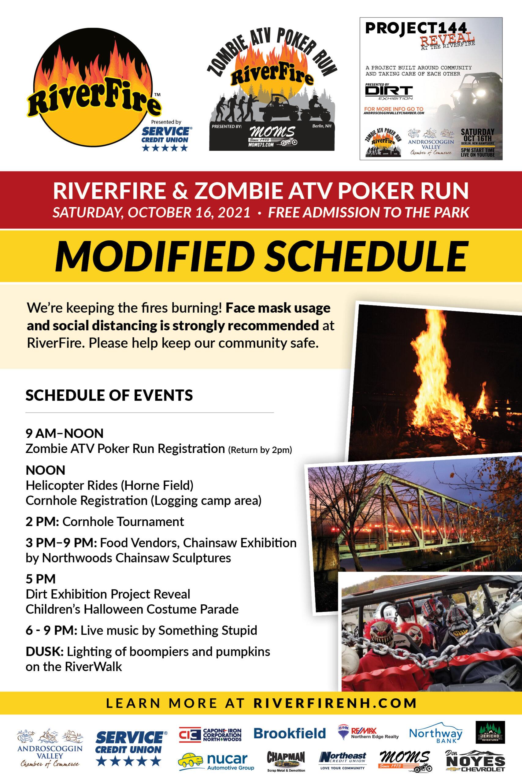 Modified RiverFire Schedule